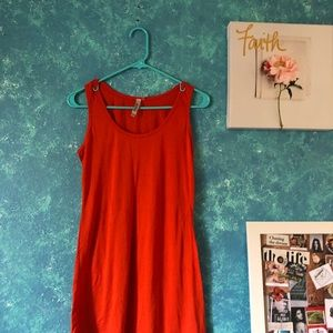 Miilla Clothing Dresses - Orange double dress.